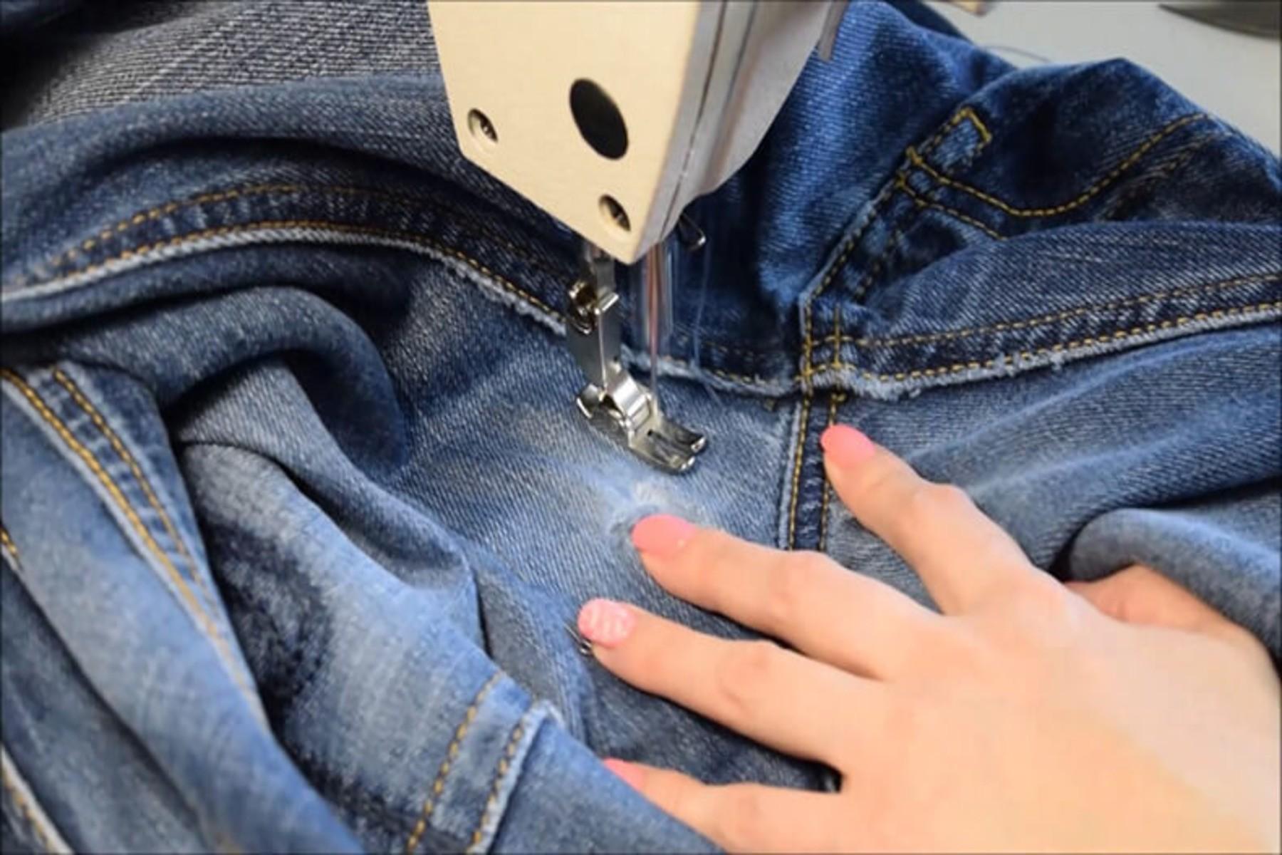 Ремонт джинсовых изделий
